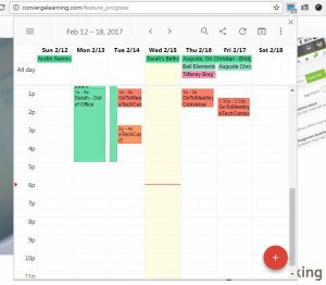 Checker plus for calendar